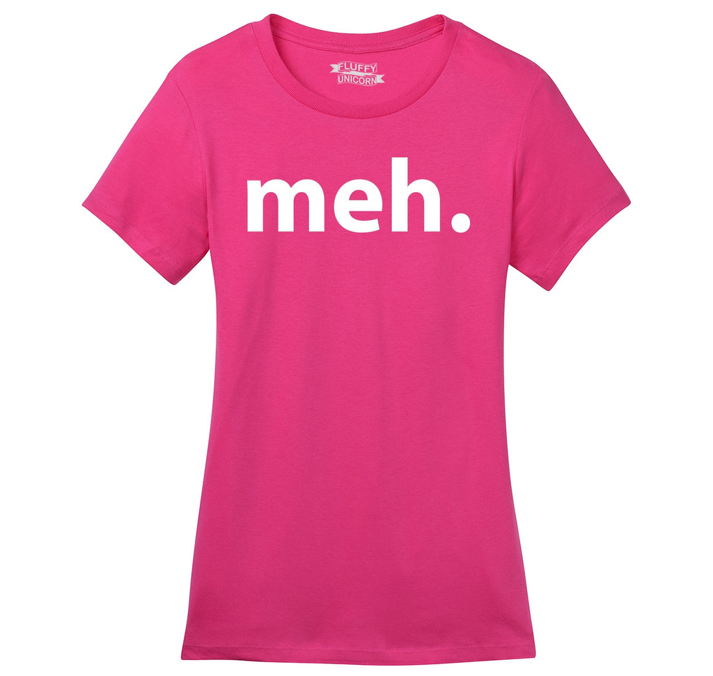 Meh Ladies Ringspun Short Sleeve Tee