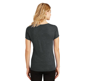 I Could Give Up Shopping I'm Not A Quitter Ladies Tri-Blend V-Neck Tee Shirt