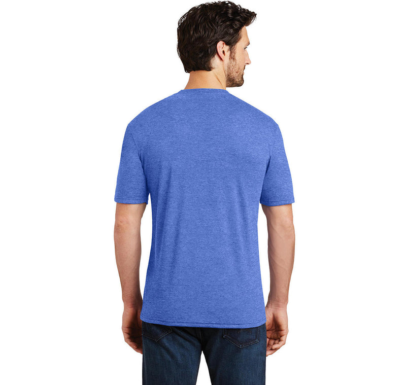 Walk Up To The Club Like What Up I Want To Go Home Mens Short Sleeve Tri-Blend Shirt