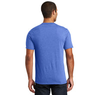 College Mens Tri-Blend V-Neck Tee Shirt