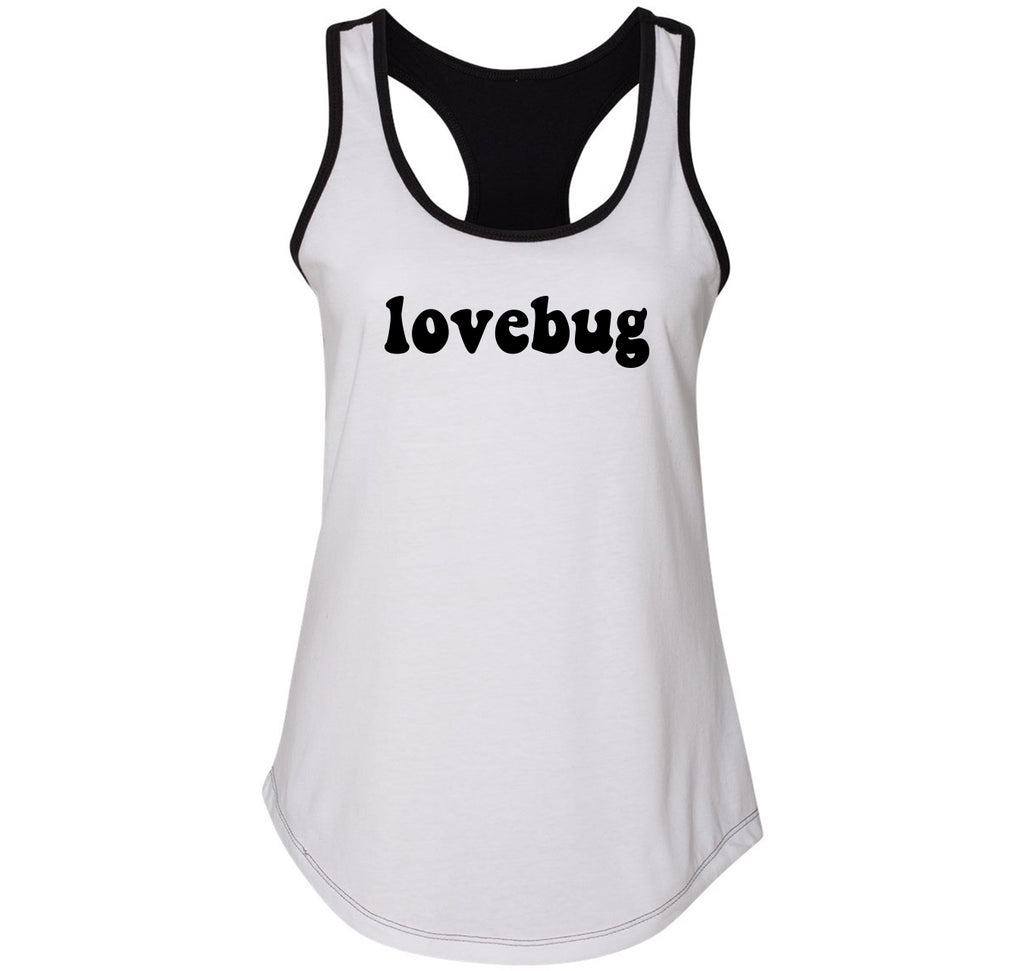 Lovebug Ladies Colorblock Racerback Tank Top