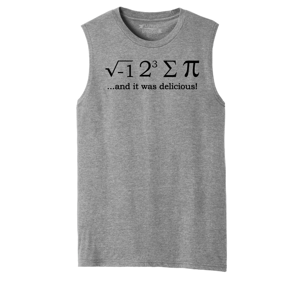 I 8 Sum Pi Mens Muscle Tank Muscle Tee