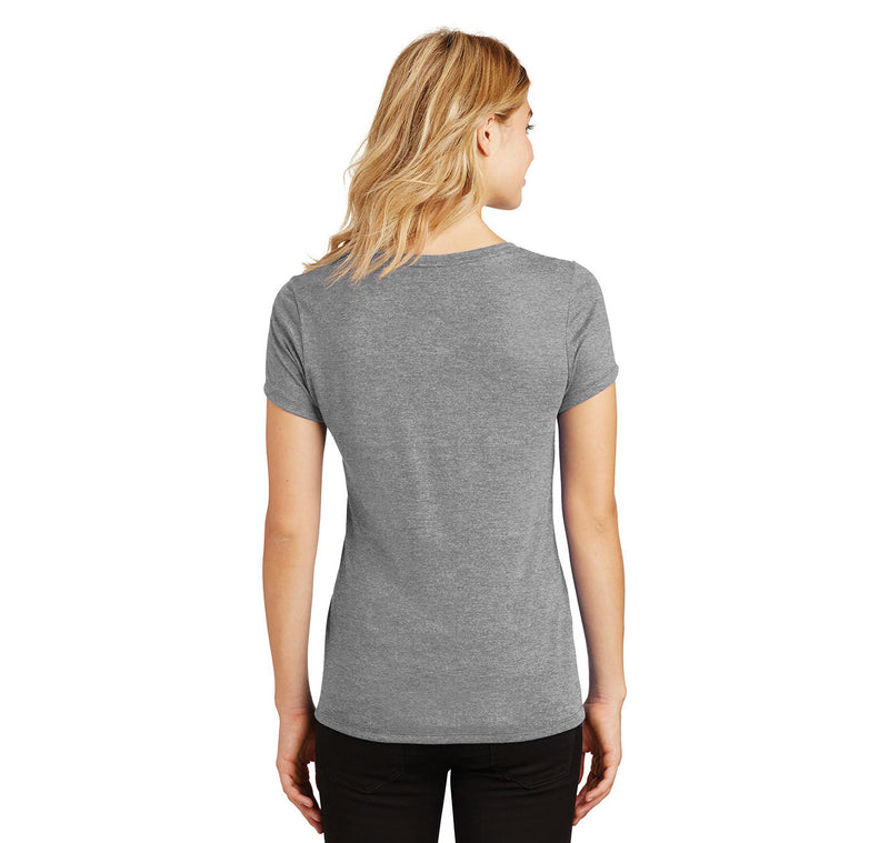I Love My Hot Wife Ladies Tri-Blend V-Neck Tee Shirt