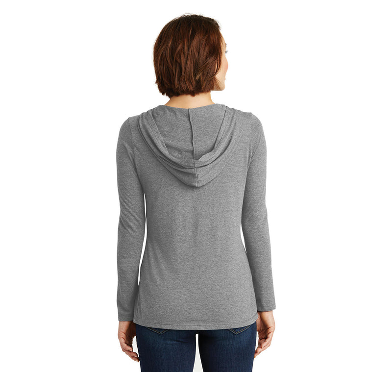 Due To The Rising Cost Of Ammo Ladies Tri-Blend Hooded Tee