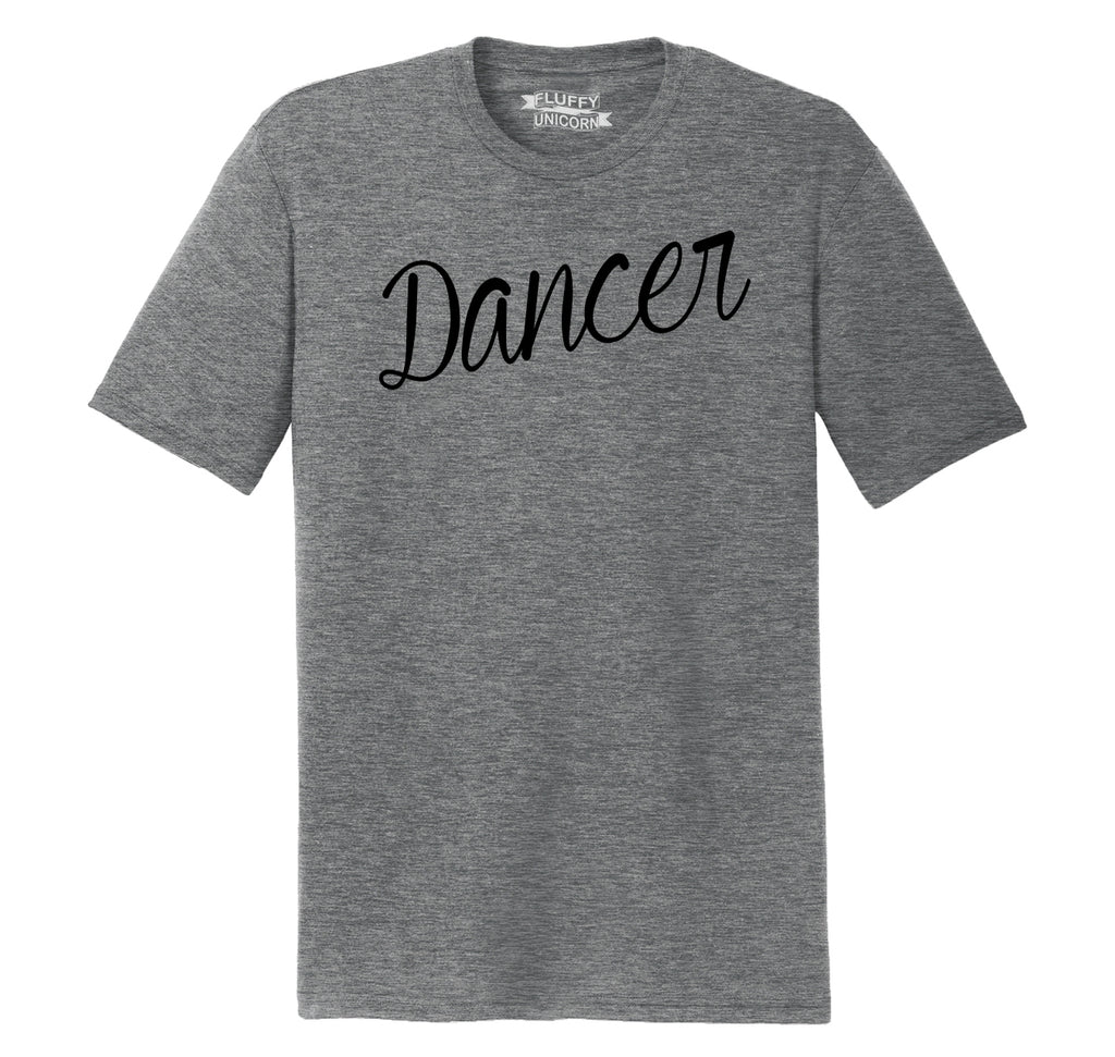 Dancer Mens Short Sleeve Tri-Blend Shirt