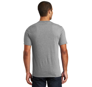 Chicken Mom Mens Tri-Blend V-Neck Tee Shirt