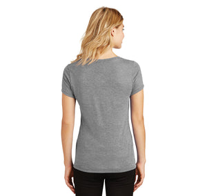 I Fuck Like A Pornstar Ladies Tri-Blend V-Neck Tee Shirt