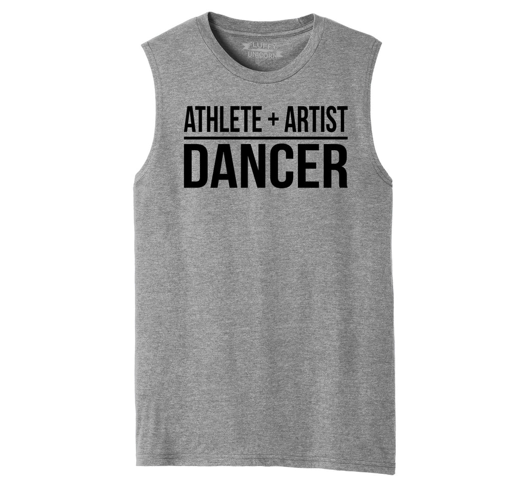 Athlete Artist Dancer Mens Muscle Tank Muscle Tee