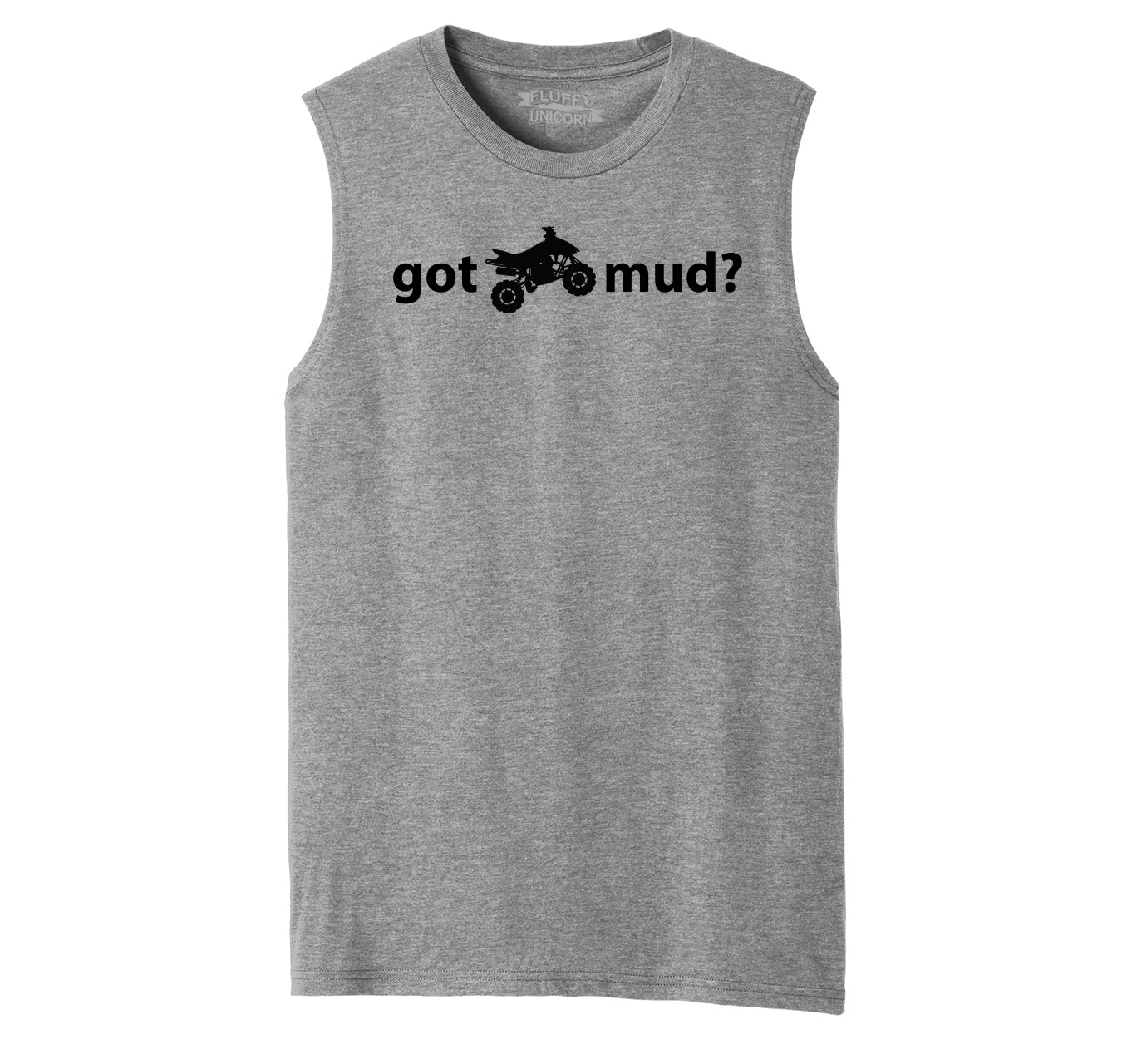God Mud? Funny Off Roading 4X4 Shirt Mens Muscle Tank Muscle Tee