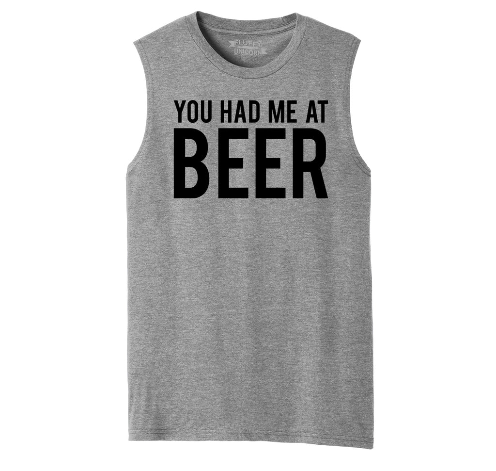 You Had Me At Beer St Patty's Day Tee Mens Muscle Tank Muscle Tee