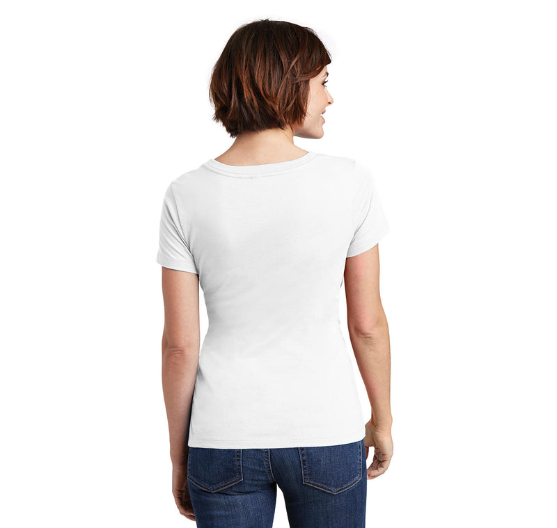 If You Stumble Make It Part Of The Dance Ladies Scoop Neck Tee