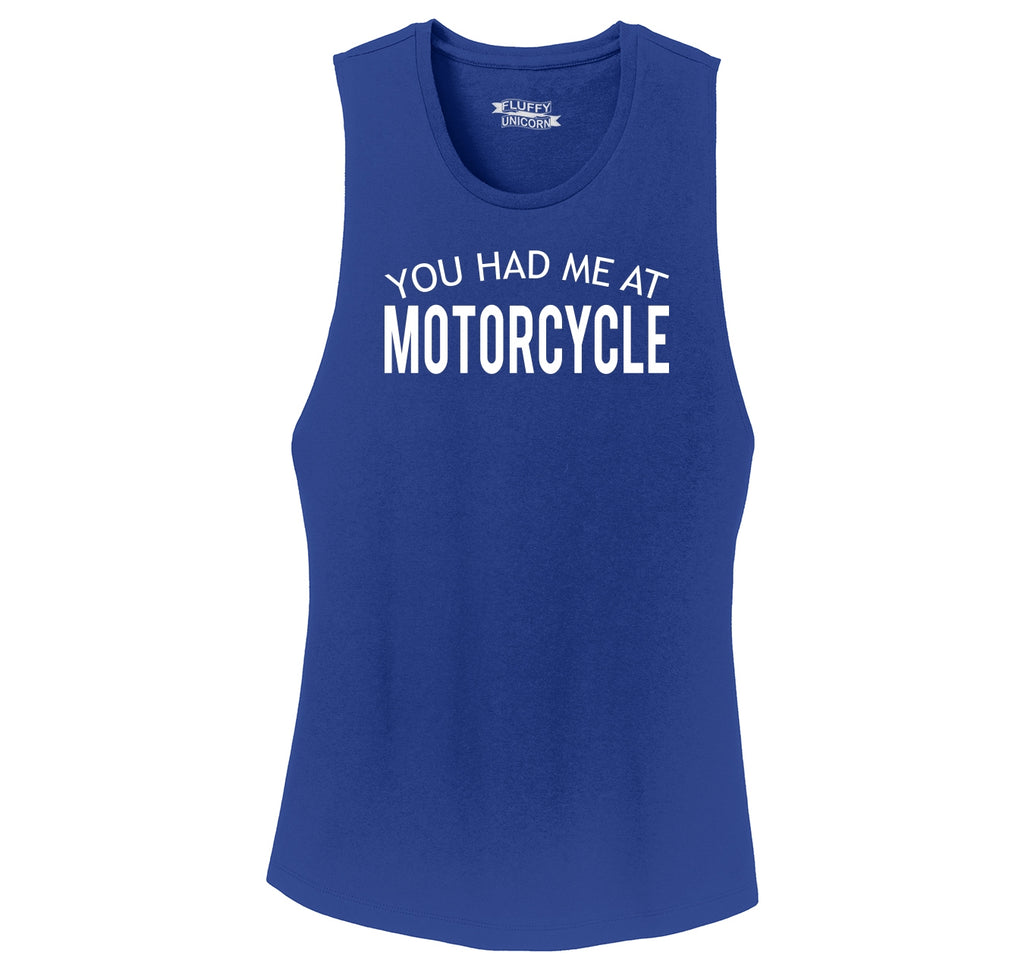 You Had Me At Motorcycle Ladies Festival Tank Top