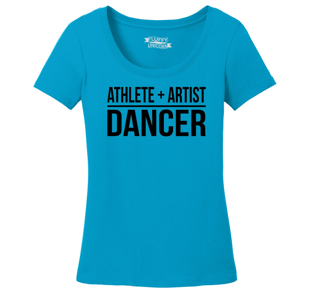 Athlete Artist Dancer Ladies Scoop Neck Tee