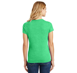 College Ladies Short Sleeve Tri-Blend Shirt