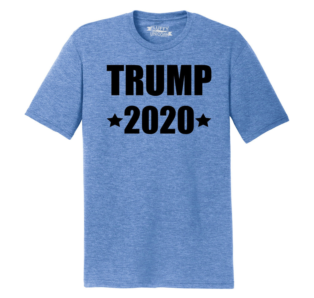Trump 2020 Mens Short Sleeve Tri-Blend Shirt
