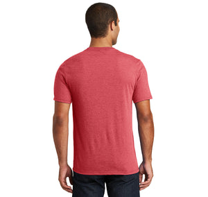 Don't Be A Richard Mens Tri-Blend V-Neck Tee Shirt