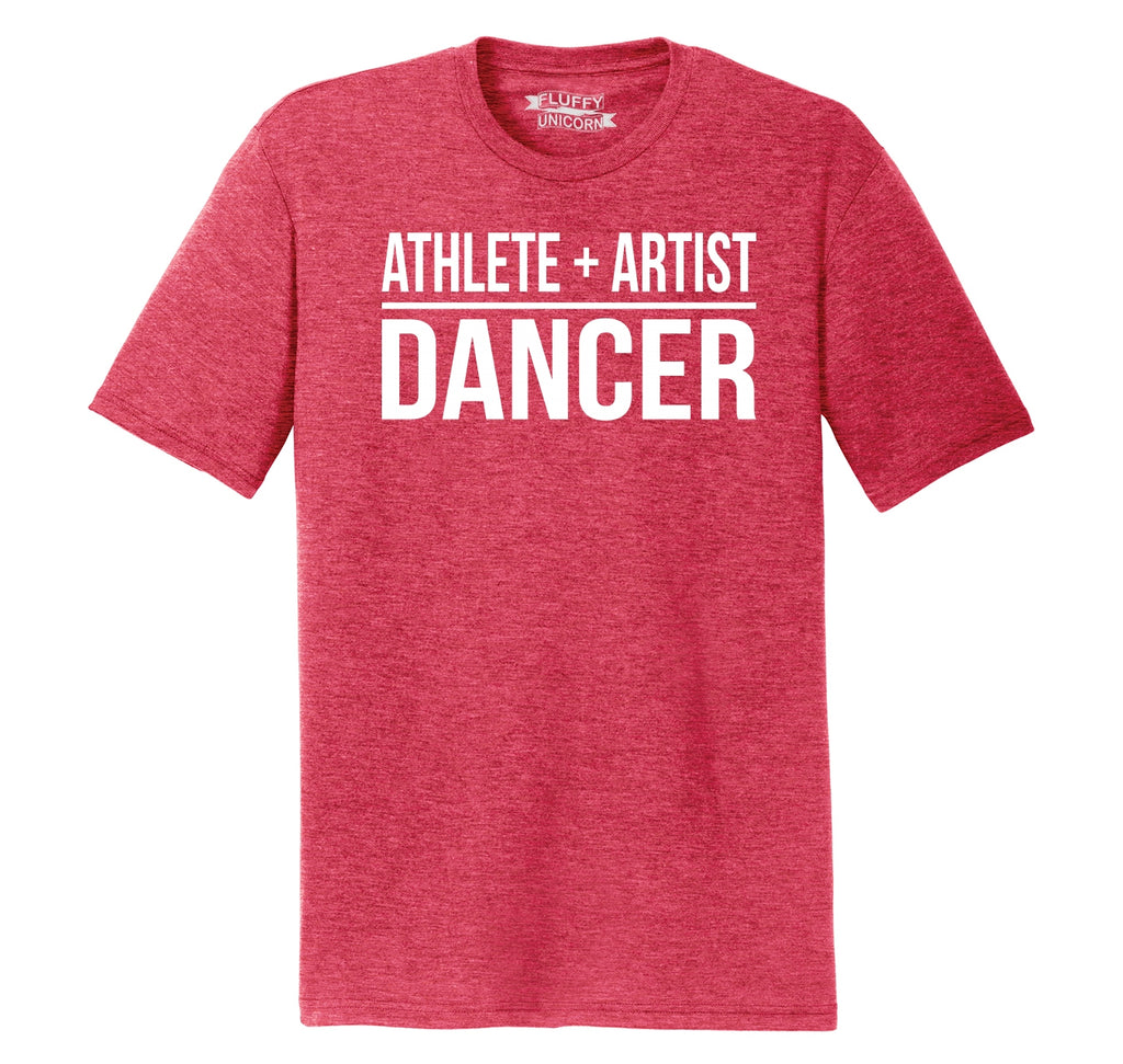 Athlete Artist Dancer Mens Short Sleeve Tri-Blend Shirt