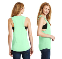 Heavily Medicated For Your Safety Ladies Festival Tank Top