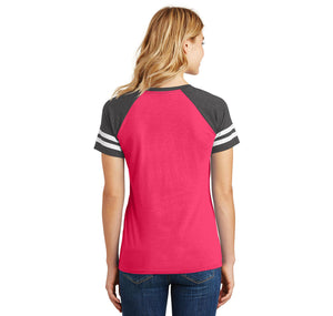 Binford Tools Don't Need Instructions Ladies Short Sleeve Game V-Neck Shirt