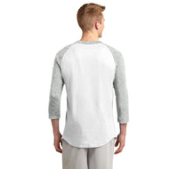 Vodka Soda Ice And Lime Mens 3/4 Sleeve Raglan Jersey