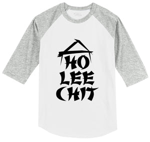 Ho Lee Chit Mens 3/4 Sleeve Raglan Jersey