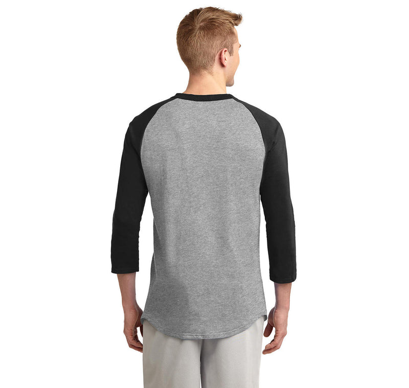 I'm Just In It For The Parking Mens 3/4 Sleeve Raglan Jersey