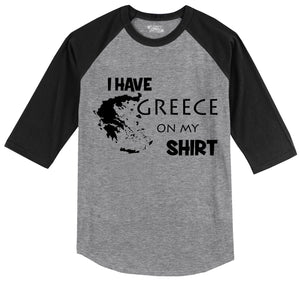 8086e24d I Have Greece Grease On My Shirt Funny Mechanic Gift Tee Mens 3/4 Sleeve