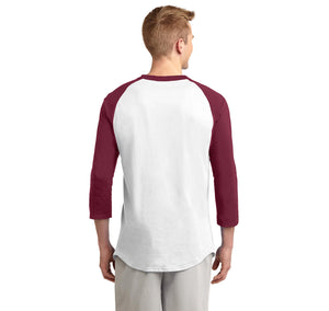 Keep Calm and Return Fire Mens 3/4 Sleeve Raglan Jersey