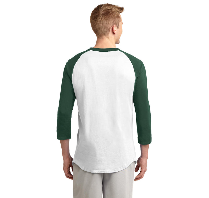 I'm Not Anti Social I'm Anti Stupid Mens 3/4 Sleeve Raglan Jersey