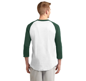 I'm Not Gay But $20 is $20 Mens 3/4 Sleeve Raglan Jersey