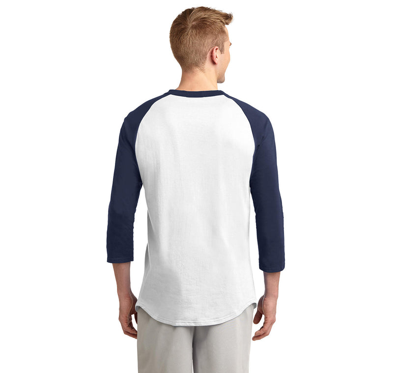 Grow A Sweet Beard You Must Mens 3/4 Sleeve Raglan Jersey