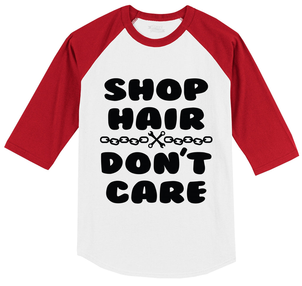 Shop Hair Don't Care Mens 3/4 Sleeve Raglan Jersey