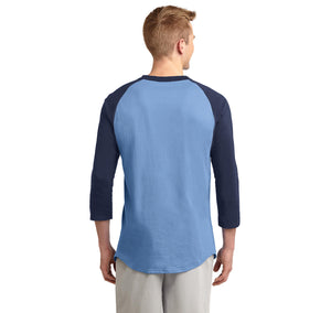 4 Out Of 3 People Struggle With Math Mens 3/4 Sleeve Raglan Jersey