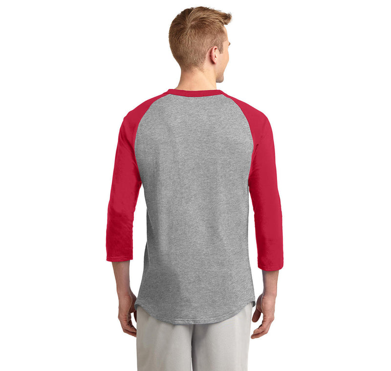 Once You Have My Meat In Your Mouth You'll Want To Swallow Mens 3/4 Sleeve Raglan Jersey