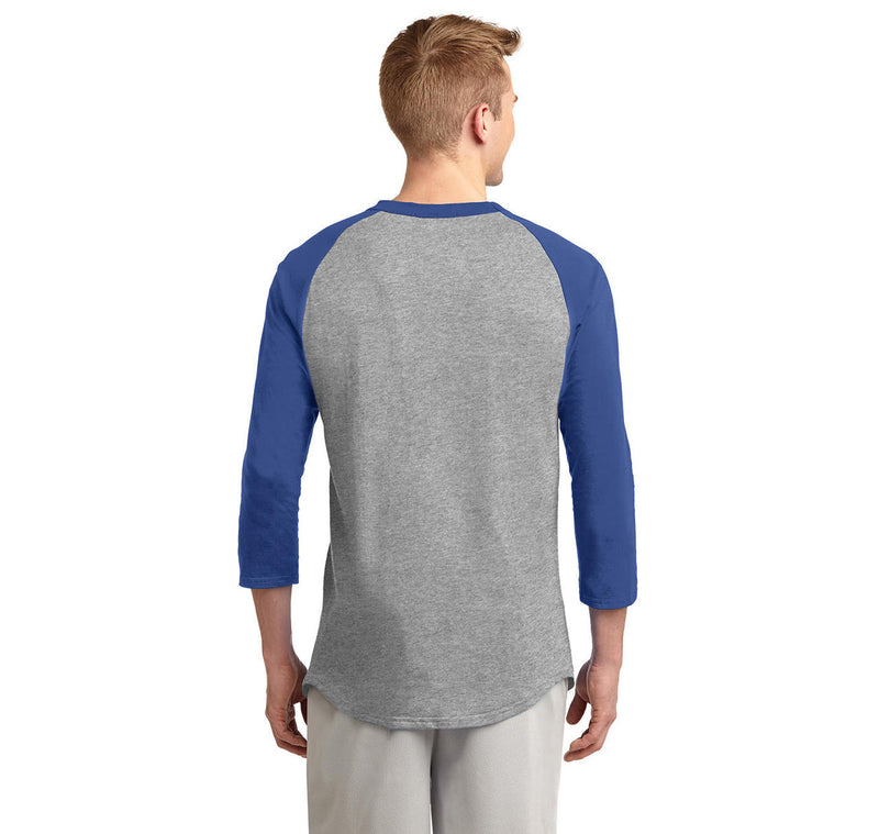 This Is My Lucky Fishing Shirt Do Not Wash Mens 3/4 Sleeve Raglan Jersey