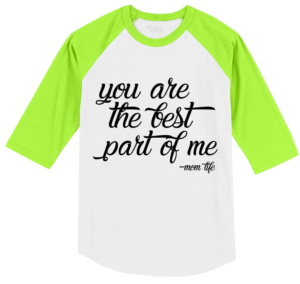 You are the best part of me Mens 3/4 Sleeve Raglan Jersey