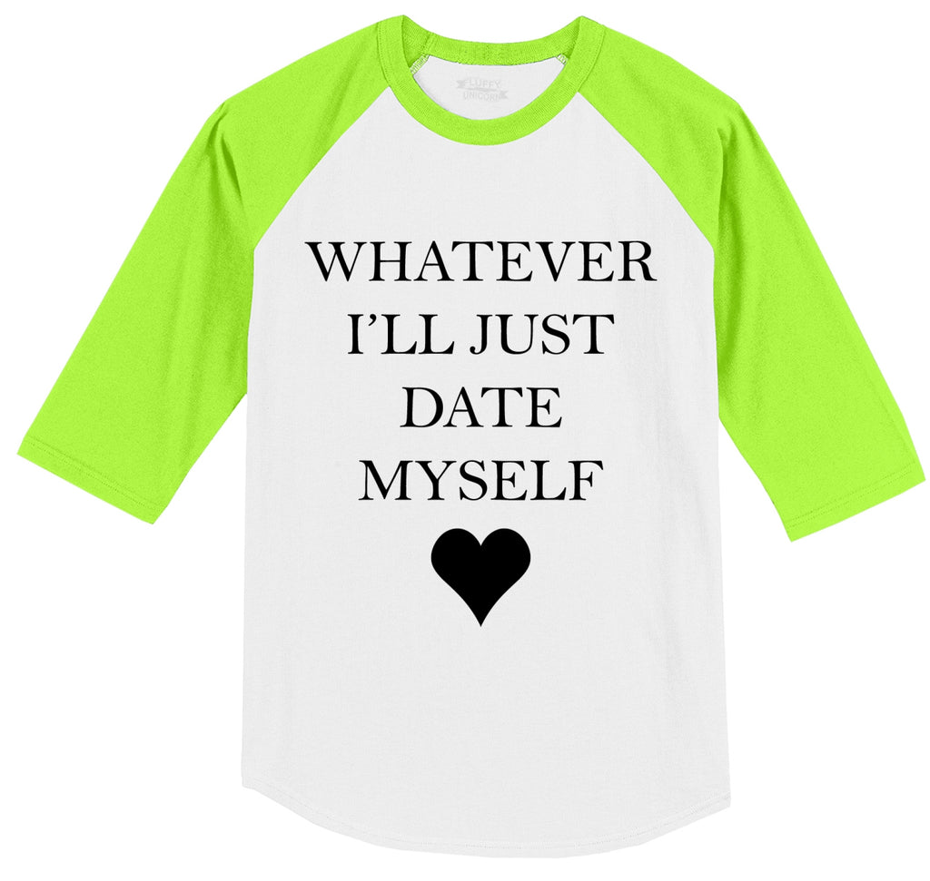Whatever I'll Just Date Myself Mens 3/4 Sleeve Raglan Jersey