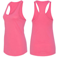 Bowling Heartbeat Ladies Racerback Tank Top