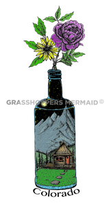 Flower Bottle (#J3)