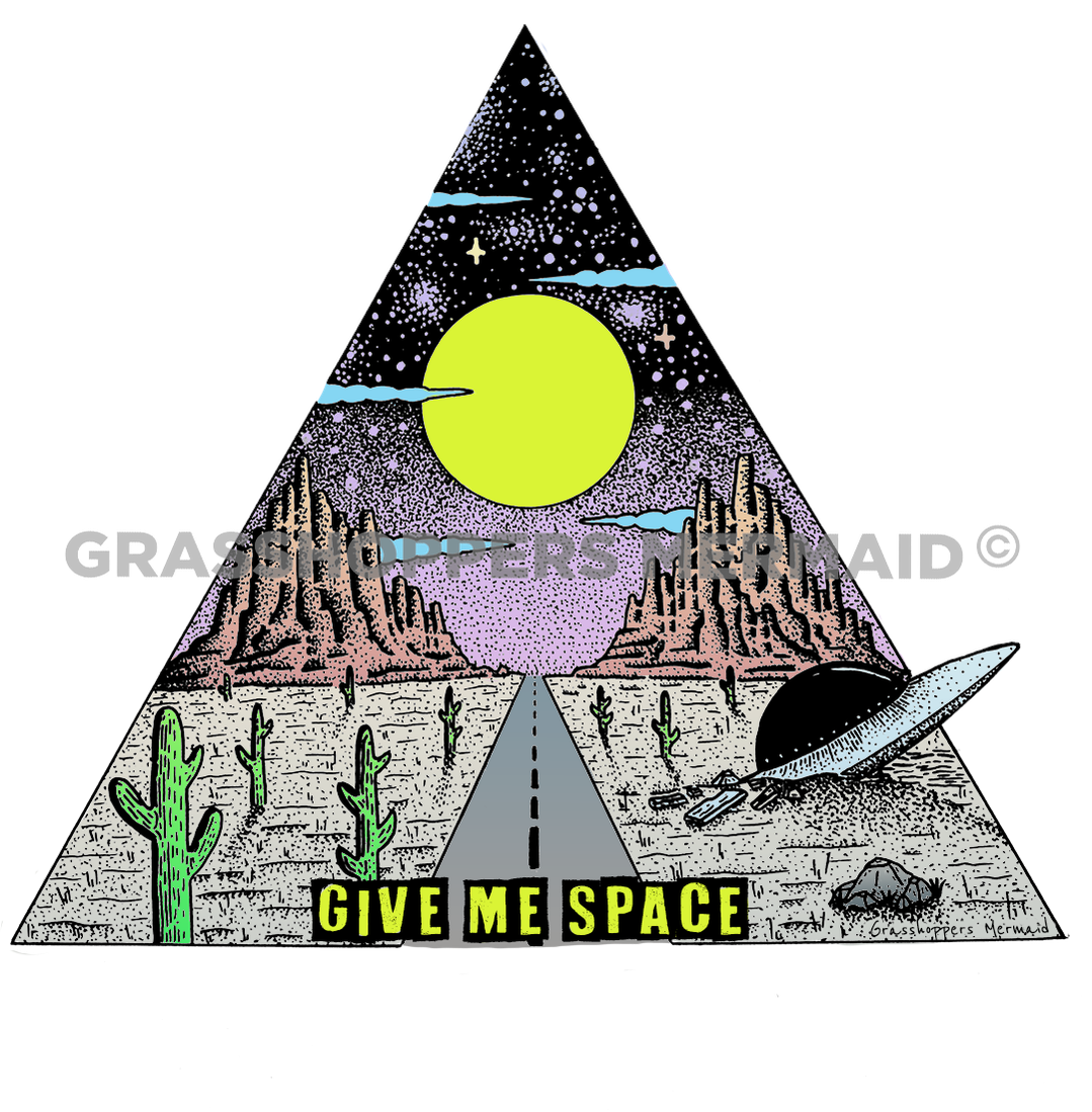 Give Me Space Desert(#D12)
