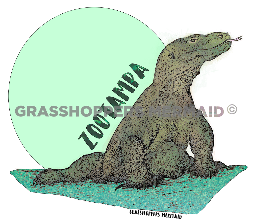 Komodo Dragon (#A12)