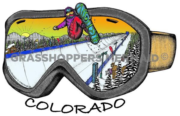 Goggle Series, Snowboard (#D3)