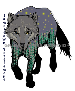 Starry Wolf (#F13)