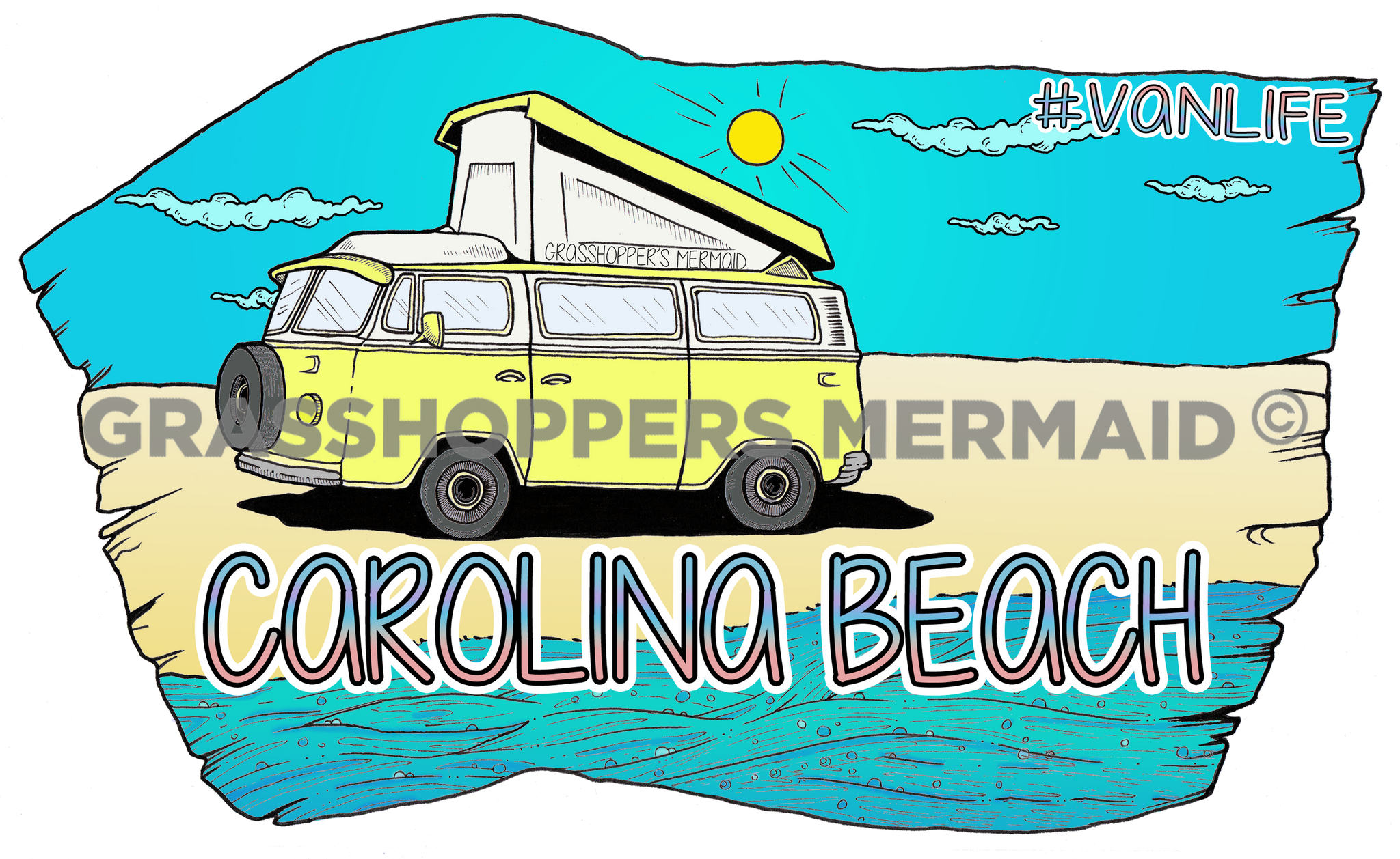 Van by the Beach (#D35)
