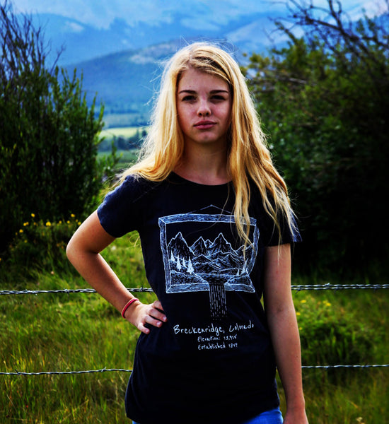 Women's Hemp Mountains Shirt