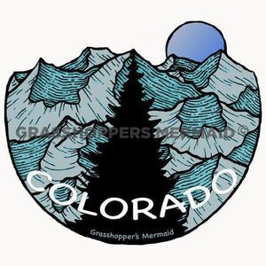 colorado stand tall sticker
