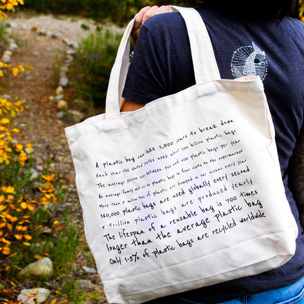 Organic Cotton Canvas Bag