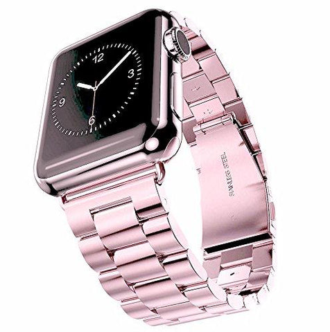 Stainless Steel Watch Band For Apple Watch  In 8 Different Colors - Beads Bands and Things