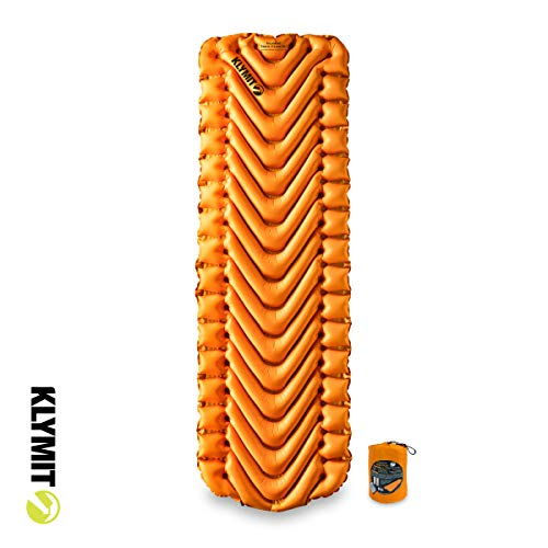 KLYMIT Insulated Static V Lite Sleeping Pad Mango
