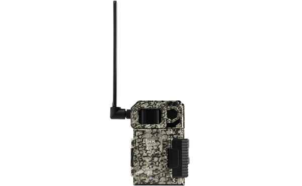 SPYPOINT Link-Micro-LTE Cellular Trail Camera 4 LED Infrared Flash Game Camera with 80-Foot Detection and Flash Range LTE-Capable Cellular Trail Camera 10MP